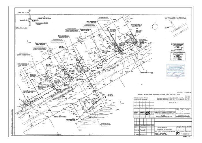 Распределительный_газопровод с вводами для садоводческих товариществ и дачных кооперативов